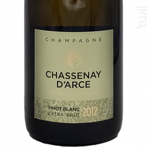 Cuvée Pinot Blanc 2012 Extra Brut - Champagne Chassenay d'Arce - 2012 - Effervescent