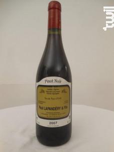 Pinot Noir - Francisque Lapandéry - 2007 - Rouge