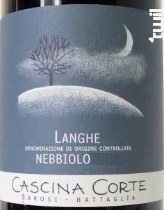 Langhe Nebbiolo DOC - Cascina Corte - 2017 - Rouge