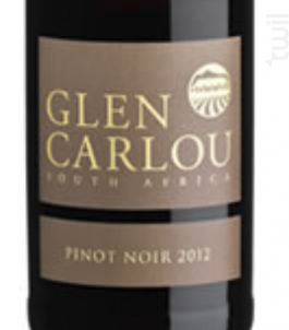 Glen Carlou Pinot Noir - Glen Carlou Vineyards - 2013 - Rouge