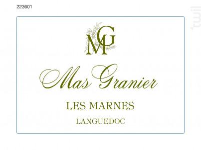 Les Marnes - Domaine du Mas Granier - 2016 - Blanc
