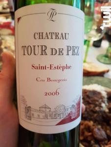 Château Tour de Pez - Château Tour de Pez - 2006 - Rouge