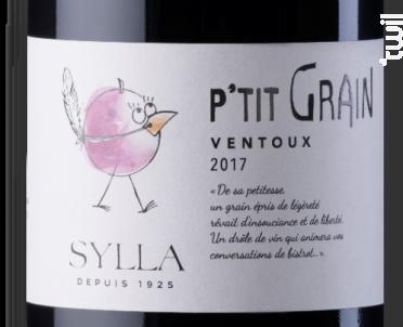 P'TIT GRAIN - Les Vins de Sylla - 2020 - Rouge