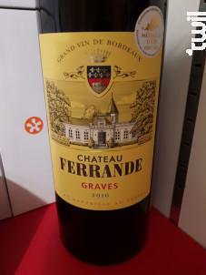 Château Ferrande - Château Ferrande - 2016 - Rouge