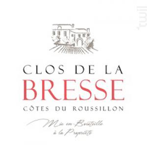 CLOS DE LA BRESSE - Clos de La Bresse - 2015 - Rouge