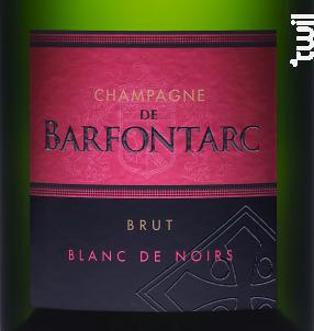 Blanc de Noirs Brut - Champagne de Barfontarc - Non millésimé - Effervescent