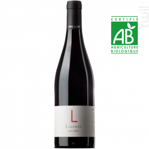 LEGENDE - Mas Amiel - 2017 - Rouge