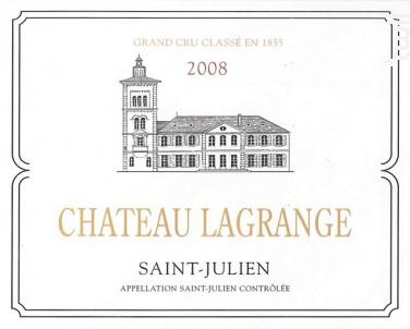 Château Lagrange - Château Lagrange - 2008 - Rouge