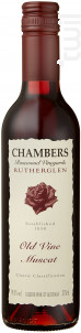 Old Vine Rutherglen - Muscat - CHAMBERS ROSEWOOD - Non millésimé - Blanc