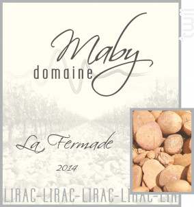 La Fermade - Domaine Maby - 2014 - Rouge