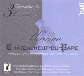 Marceau - Domaine des 3 Cellier - 2016 - Rouge