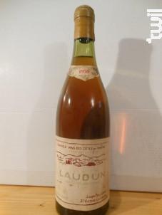 Laudun - Domaine Pélaquié - 1958 - Blanc