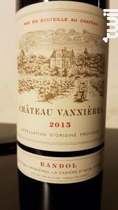 Chateau Vannieres - Château Vannières - 2016 - Rouge