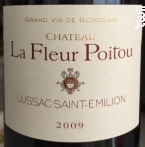 La Fleur Poitou - Château la Fleur Poitou - 2015 - Rouge
