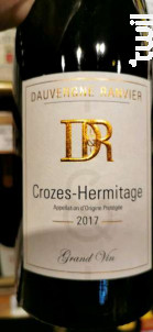 Crozes-Hermitage - Maison Dauvergne et Ranvier - 2017 - Rouge