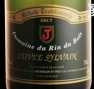 Cuvée Sylvain - Domaine du Rin du Bois - Non millésimé - Effervescent
