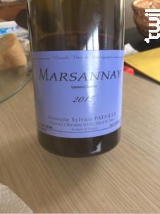 Marsannay Les Longeroies - Domaine Sylvain Pataille - 2016 - Rouge