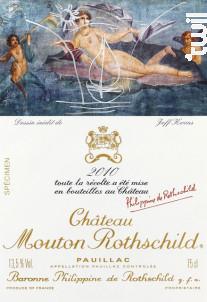 Château Mouton Rothschild - Château Mouton Rothschild - 2010 - Rouge