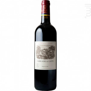 Carruades de Lafite - Domaines Barons de Rothschild - Château Lafite Rothschild - 2015 - Rouge