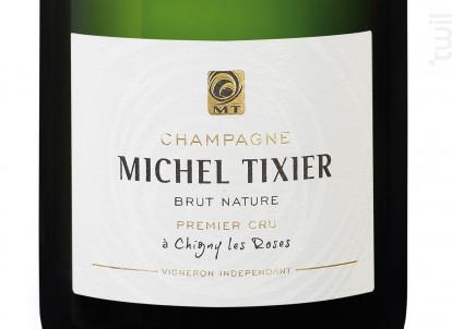 Brut Nature 1er cru - Champagne Michel Tixier - Non millésimé - Effervescent