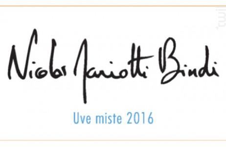 Uve Miste - NICOLAS MARIOTTI BINDI - 2016 - Rosé