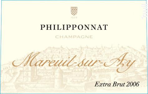 Mareuil-sur-Ay Extra Brut Millésimé - Champagne Philipponnat - 2008 - Effervescent