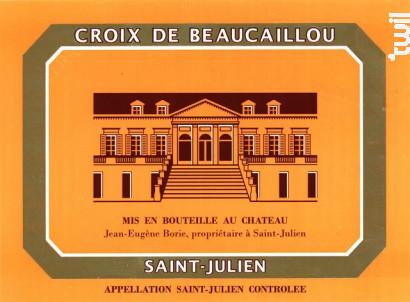 La Croix Ducru Beaucaillou - Château Ducru-Beaucaillou - 2008 - Rouge