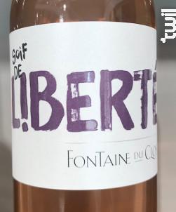 Soif de Liberté - Domaine Fontaine du clos - 2019 - Rosé