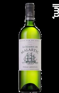 La Réserve de Malartic - Château Malartic-Lagravière - 2007 - Blanc