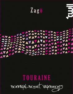Touraine Zagö - Bonnigal et Bodet - 2018 - Rosé