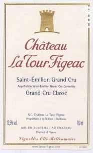 Château La Tour Figeac - Château La Tour Figeac - 1990 - Rouge