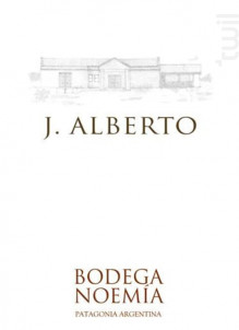j Alberto Malbec - Bodega Noemia Patagonia - 2015 - Rouge