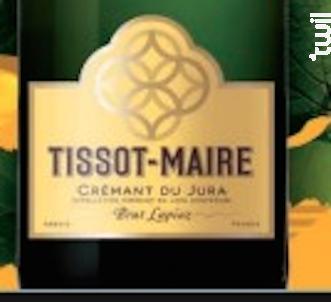 Crémant du Jura Blanc de Noirs  Brut - Tissot-Maire - Non millésimé - Effervescent