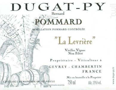 Pommard - La Levrière - Dugat-Py - 2013 - Rouge