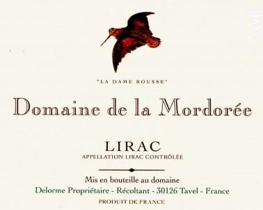 Dame Rousse - Domaine de la Mordorée - 2017 - Rouge