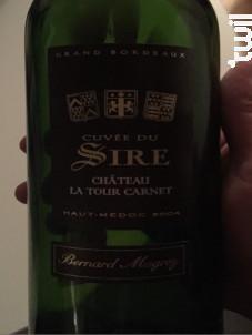 Cuvée du Sire - Bernard Magrez - Château La Tour Carnet - 2012 - Rouge