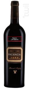 Paciencia Toro - Bernard Magrez - 2015 - Rouge