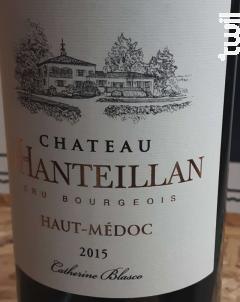 Château d'Hanteillan - Château d'Hanteillan - 2015 - Rouge