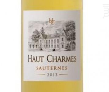 Haut Charmes - La Compagnie Médocaine des Grands Crus - 2013 - Blanc