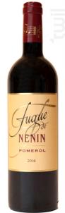 Fugue de Nénin - Château Nénin - 2016 - Rouge