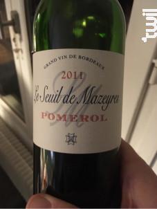 Le Seuil de Mazeyres - Château Mazeyres - 2005 - Rouge