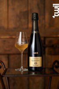 Brut Nature Millésimé - Champagne Philippe Gamet - 2012 - Effervescent