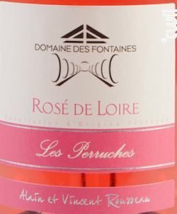 Les Perruches - Domaine des Fontaines - 2018 - Rosé