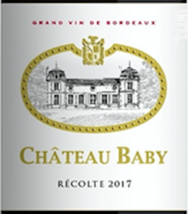 Château Baby - Château Baby - 2017 - Rouge