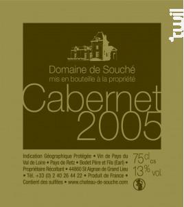 Cabernet - Château de Souché - 2005 - Rouge