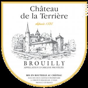 Brouilly Tradition - Château de la Terrière - 2016 - Rouge