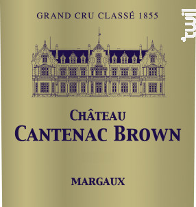 Château Cantenac Brown - Château Cantenac Brown - 2016 - Rouge