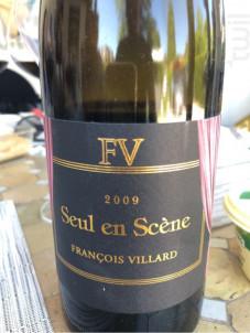 Seul en Scène - Domaine François Villard - 2007 - Rouge