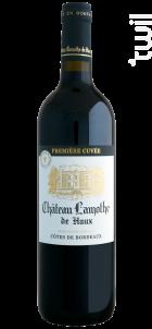 Première Cuvée - Château Lamothe de Haux - 2018 - Rouge