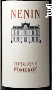 Château Nénin - Château Nénin - 2013 - Rouge